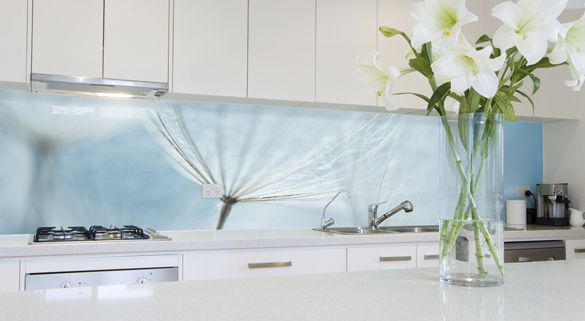 Akril Select Christmas Flower Splashbacks